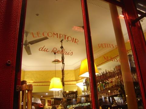 Le comptoir du relais context travel blog - Le comptoir du relais restaurant reservations ...
