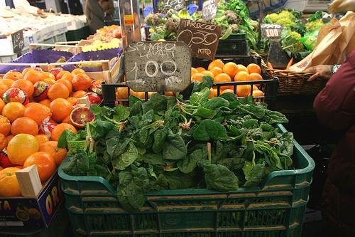 Rome food market