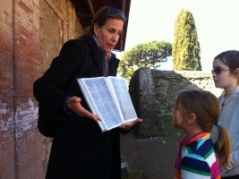 Ostia tour with Kids