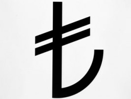 New symbol for Turkish Lira