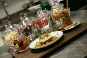 Byzantium dessert plate
