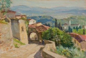 Fiesole by Willard Leroy Metcalf