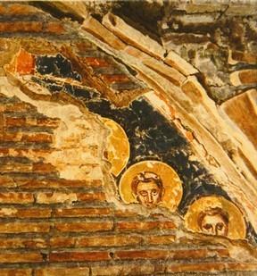 fresco crypta Via Lata