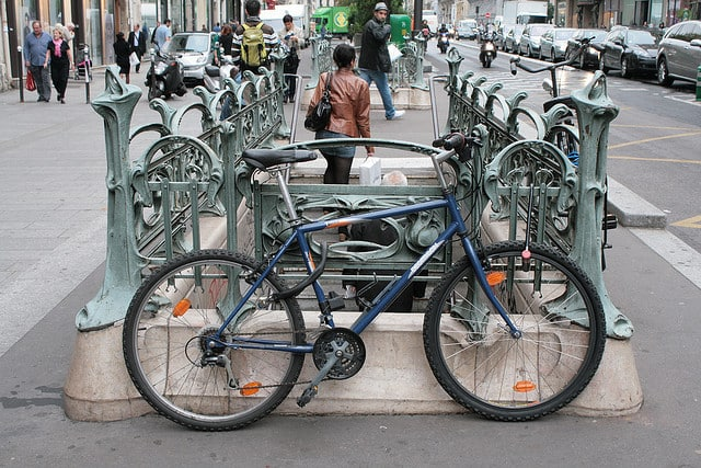 bikes in Paris