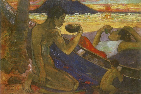 Gauguin-Te vaa