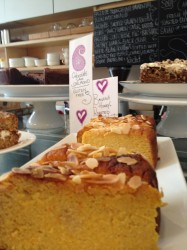 Cakes at LRB cafe