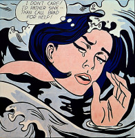 Drowning Girl, 1963 by Roy Lichtenstein