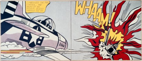Whaam! 1963 by Roy Lichtenstein