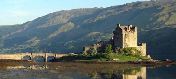 The west coast of Scotland