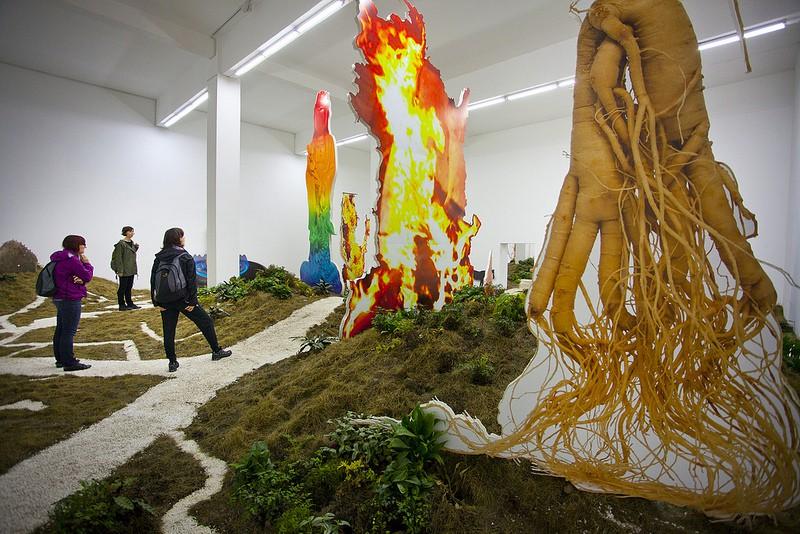 Exploring Beijing's 798 art district. (c) Alessandro Gloder