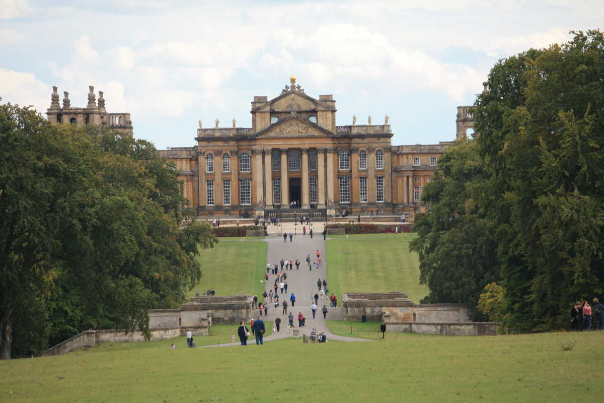 Blenheim Palace Facade Context Travel Blog