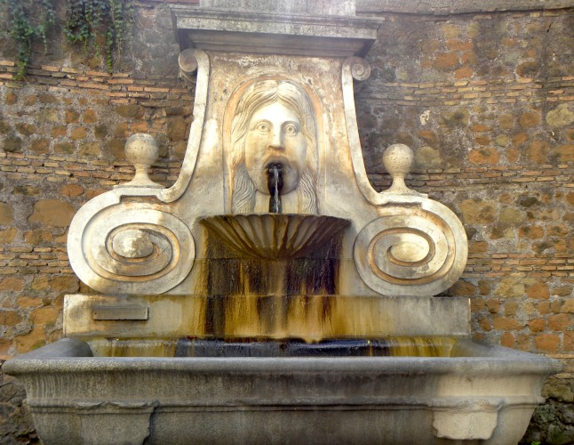 Via Giulia, Fontana del Mascherone