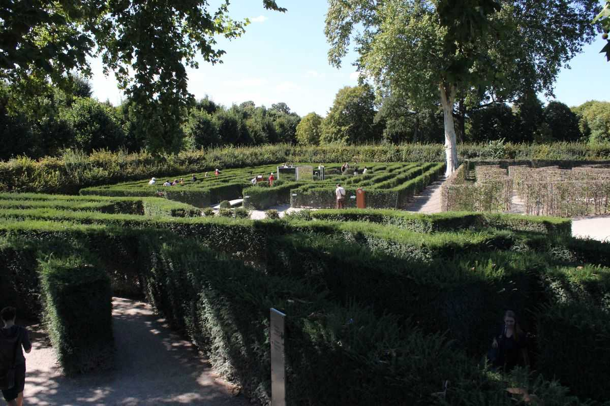 Schonbrunn Maze Labyrinthikon