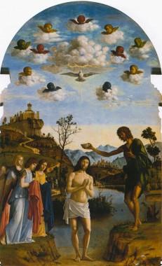 Giambattista Cima da Conegliano, Baptism of Christ, 1492