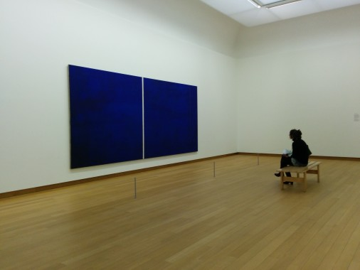 Cathedra by Barnett Newman, via Wiki Commons