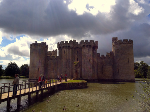 Bodiam Castle, East Sussex—Medieval Sites around London