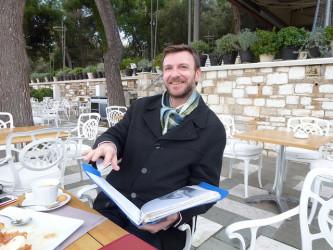 Athens docent and historian Vassilios Dalamagas