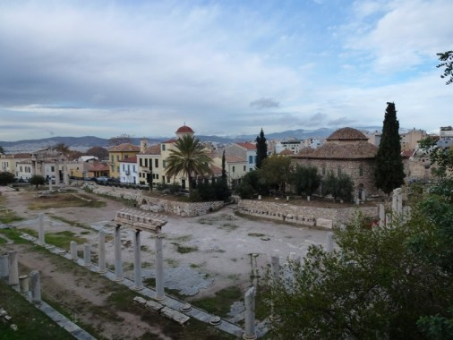 The Roman Agora in Athens