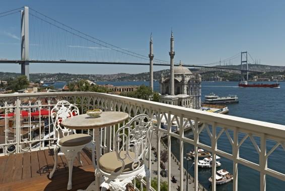 Penthouse balcony of the House Hotel Bosphorus, photo courtesy of House Hotels
