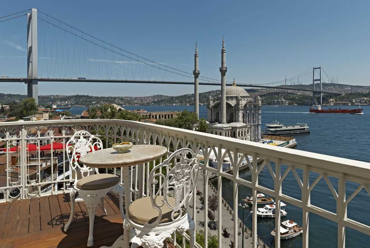 Penthouse balcony of the House Hotel Bosphorus, photo courtesy of House Hotels