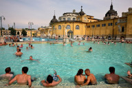 Széchenyi Baths. Photo by Alex Proimos.