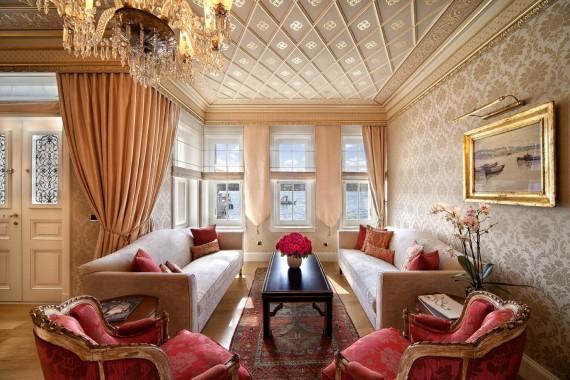 Suite at Armaggan Bosporus Suites, photo courtesy Armaggan Bosporus Suites