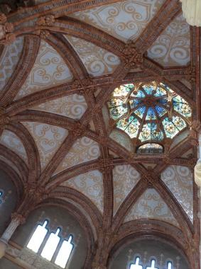Hospital de Sant Pau detail