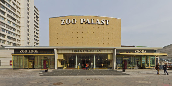 Newly renovated Zoo Palast cinema, via Wiki Commons