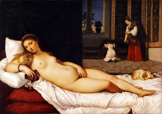 Titian, Venus of Urbino, c. 1538, oil on canvas, Uffizi