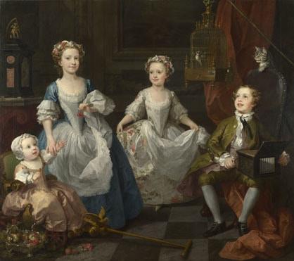 William Hogarth, The Graham Children, 1742 National Gallery, Room 34