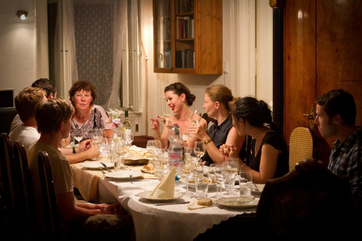 Jewish Hungarian Meal