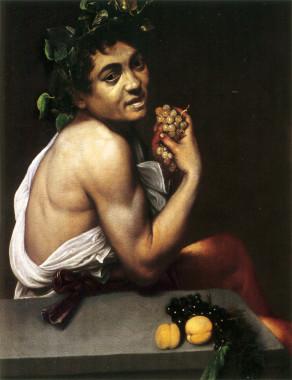 Caravaggio's Young Sick Bacchus