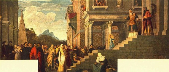 Titian, Presentation of the Virgin at the Temple