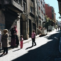 "The steep streets of Fener and Balat are often used for film shoots, since they still feel like ""Old Istanbul."""