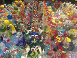 Glass souvenirs