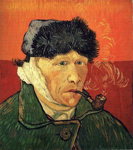 Self-Portrait, 1889, Vincent Van Gogh. Licensed under Public Domain via Wikimedia Commons