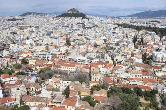 View from the top - visit the Acropolis
