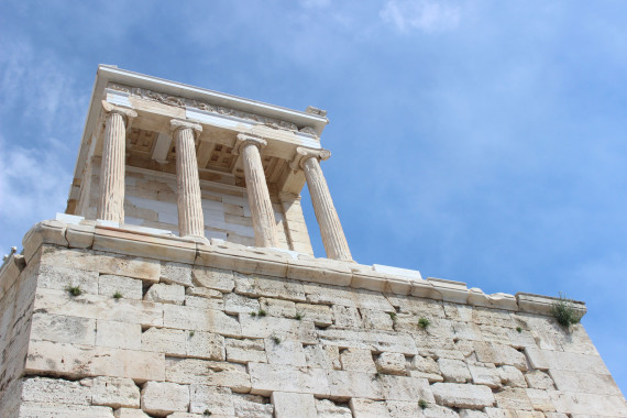 Be prepared to walk when you visit the Acropolis