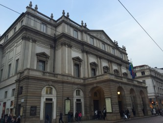 La Scala theater in Milan. Photo by Sarah Branduardi for Context Travel