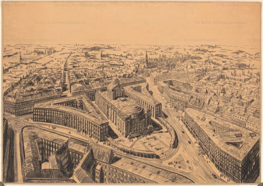 Bülowplatz (later Rosa-Luxemburg-Platz), 1928. Source: europeana.eu