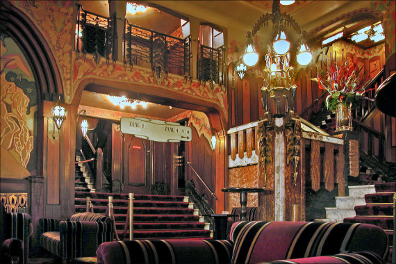 Tuschinski Theater in the Jewish quarter Amsterdam