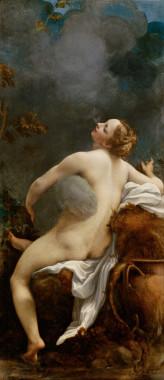 Jupiter and Io, by Antonio Allegri (called Correggio)