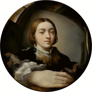 Self-Portrait in a Convex Mirror by Parmigianino