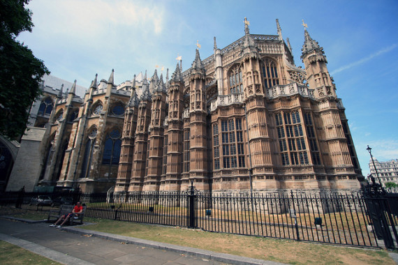 Exterior of Henry VII's Lady Chapel