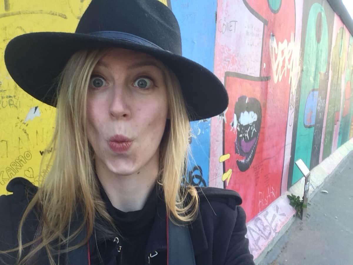 Berlin Wall Selfie