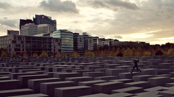 Memorial to the Murdered Jews of Europe, one of the Holocaust Memorials around the world