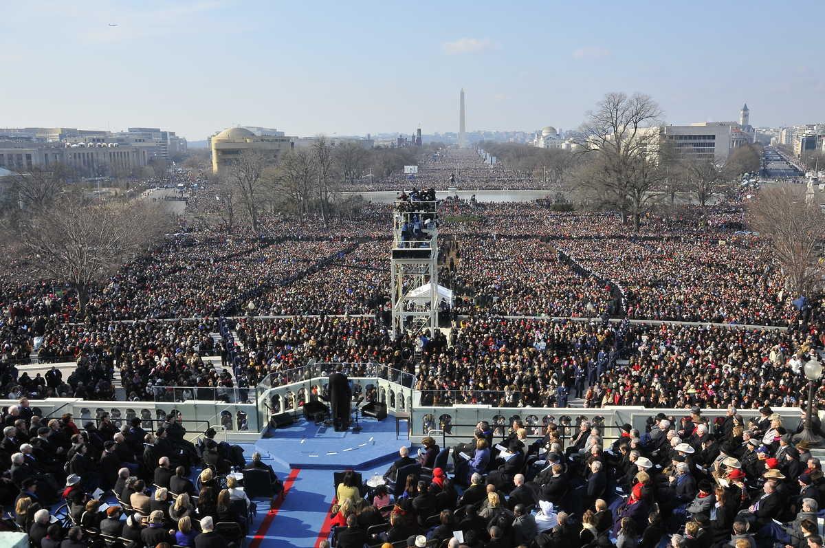 President Barack Obama on Inauguration Day