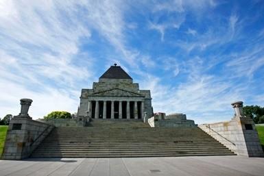 Shrine of Remembrance credit thatsmelbourne.au