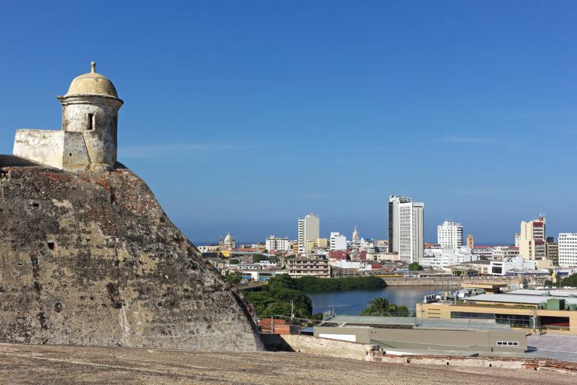 Atop of San Filipe de Barajas Castle