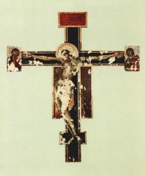 Cimabue's Crucifix before the restoration
